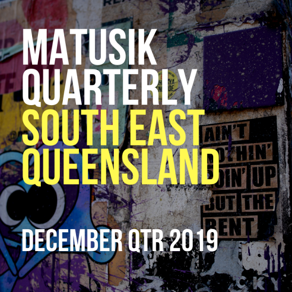 Matusik Quarterly December 2019 report cover